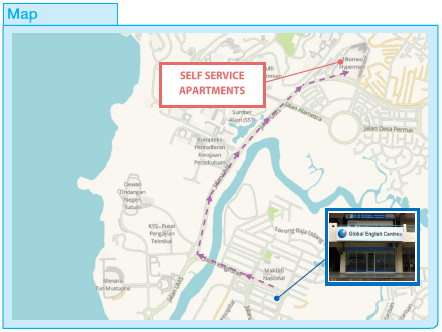 Location Map - Self Serviced Apartment