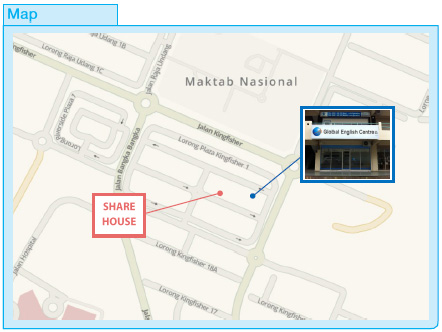 Location Map - Share House