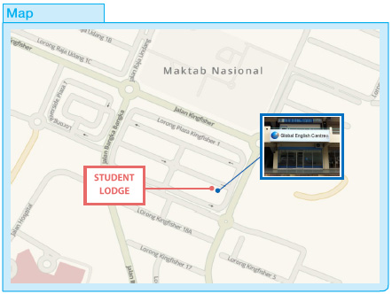 Location Map - Student Lodge